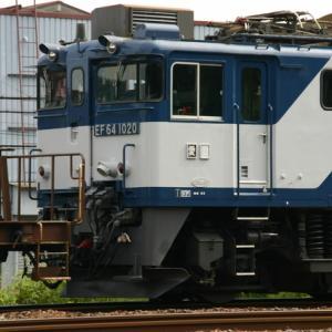 EF64  1020 山崎ー島本 2012/6 EF64が関西にやってきた頃