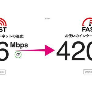 So-net Nuro光の超遅い速度が超高速に! HG8045Qは返品だ!