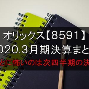 2020.Q4決算まとめ オリックス【8591】