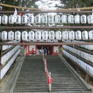 せんべいと吉備津神社 岡山