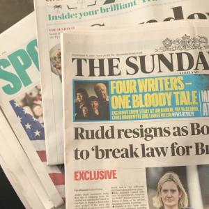 イギリスのメディアの政治スペクトラム