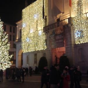イタリア・パドヴァのクリスマスイルミネーション