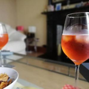 スコットランドでイタリアの夏を感じる:Spritz con Aperolを飲みながら