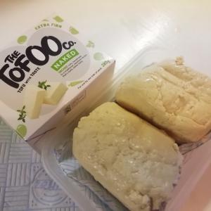 簡単ごはん:巨大ベジタリアン豆腐バーグ(卵使用)