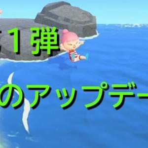 【あつ森】夏のアップデート第1弾!海に入れるようになる!?