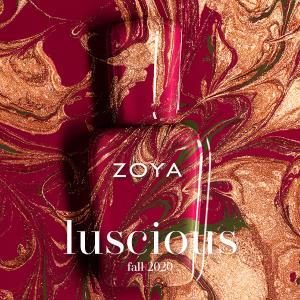 ブロンズカラー ZOYA FALL 2020「luscious(ラシャス)」コレクション