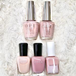 自爪が綺麗に見える半透明ピンクのマニキュアおすすめベスト5