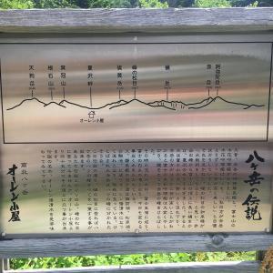 八ヶ岳の伝説