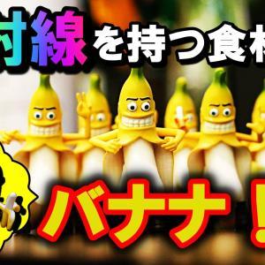 【3分豆知識】バナナは放射線物質!?