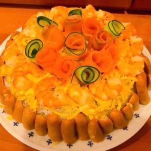 ひな祭り★男子も喜ぶちらし寿司