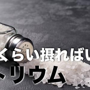 【ナトリウム】1日にどれくらい摂れば十分?