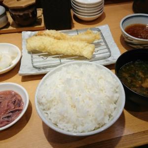 牡蠣と熊本赤なすの秋定食@まきの ラポルテ芦屋店(芦屋市大原町)