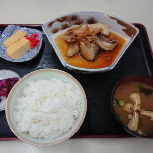 ブリあら煮定食@福助 深江店(神戸市東灘区深江北町)
