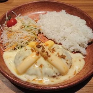 【期間限定】チーズ三昧バーグディッシュ@びっくりドンキー サンシャインワーフ神戸店