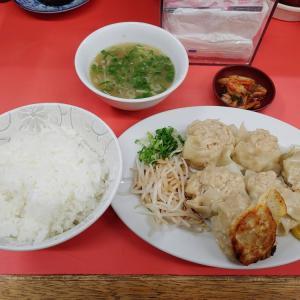 焼しゅうまい定食@おばちゃんとこ(南森町)