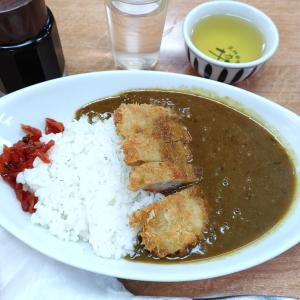 カツカレー@力餅食堂 中崎店(大阪市北区中崎)