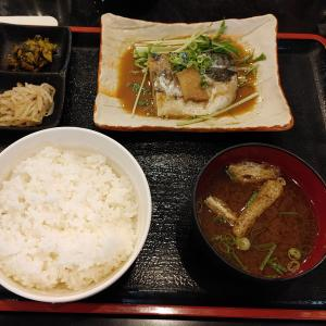 鯖味噌煮定食@こだわりや 海鮮丸(メトロこうべ・新開地タウン)
