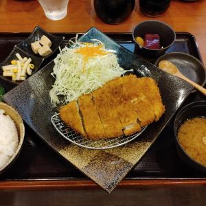 とんかつ定食@とんかつ ながた園 サンプラザ店(三宮)