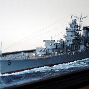 1/350 軽巡洋艦「矢矧」の製作⑦ 完成