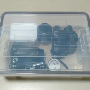 カメラの保管・・防湿庫の製作