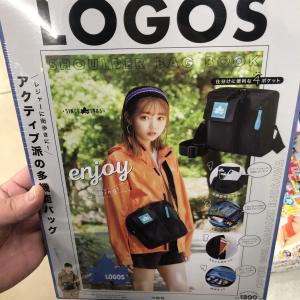 ロゴスのショルダーバッグもコンビニで売っている!!