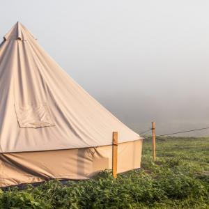 ポリコットンのテントは冬に快適?そもそもポリコットンって何?