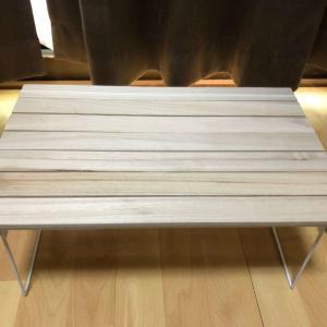キャンプテーブルを自作!100均の商品だけで作ってみた!
