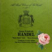 G.F.ヘンデル : 水上の音楽(4)/ [ハーティ版] ジョージ・ウエルドン(録音年不詳)