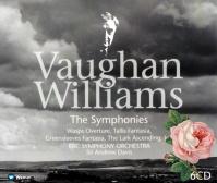 R.ヴォーン=ウィリアムズ : 交響曲 第5番 ニ長調/アンドリュー・デイヴィス(℗1993)