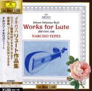J.S.バッハ : リュート作品集 BWV.995-1000/BWV1006a(4)/ナルシソ・イエペス[Lute・G](1973)