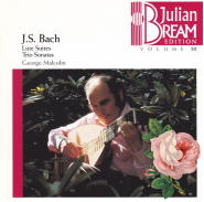 J.S.バッハ : リュート作品集 BWV.995-1000/BWV1006a(6)/ジュリアン・ブリーム(1965)