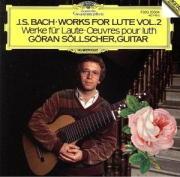 J.S.バッハ : リュート作品集 BWV.995-1000/BWV1006a(9)/イェラン・セルシェル(1981/83)