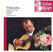 H.ヴィラ=ロボス : ギター協奏曲(1)/ジュリアン・ブリーム/アンドレ・プレヴィン