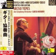 H.ヴィラ=ロボス : ギターと小管弦楽のための協奏曲(3)/ナルシソ・イエペス/ガルシア・ナバロ
