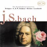 J.S.バッハ : ブランデンブルク協奏曲 第3番 ト長調 BWV.1048(4)/グスタフ・レオンハルト(指揮&cemb)/フランス・ブリュッヘン/クイケン兄弟/アンナー・ビルスマ/他
