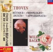 L.v.ベートーヴェン : ピアノ・ソナタ 第14番 嬰ハ短調 op.27-2「月光」(1)/ヴィルヘルム・バックハウス(1958)