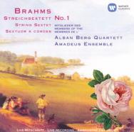 J.ブラームス : 弦楽六重奏曲 第1番 変ロ長調 op.18/第2番 ト長調 op.36(2)/アマデウスSQ団員&アルバン・ベルク四重奏団員(1987(L)・90(L))