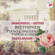 ピアノ協奏曲 第5番 変ホ長調 op.73「皇帝」(6)[ピリオド]/L.v.ベートーヴェン/インマゼール/ターフェルムジーク(1997)