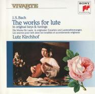 J.S.バッハ : リュート作品集 BWV.995-1000/BWV1006a(10)/ルッツ・キルヒホーフ(1987)