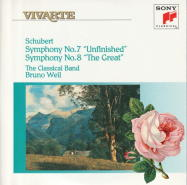 F.シューベルト : 交響曲 第7(8)番 ロ短調 D.759 「未完成」(12)/[ピリオド] ヴァイル(1991)