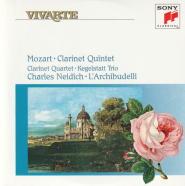 """クラリネット五重奏曲 イ長調 K.581 """"Stadler Quintet""""(2)/W.A.モーツァルト/ナイディック/ラルキブデッリ(1992)"""