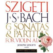 無伴奏ヴァイオリン・ソナタ&パルティータ BWV.1001-1006(2)/J.S.バッハ/シゲティ(1955-56)
