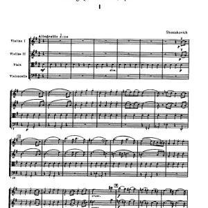 弦楽四重奏曲 第6番 ト長調 op.101/D.D.ショスタコーヴィチ