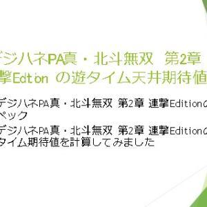 デジハネPA真・北斗無双 第2章 連撃Editionの遊タイム天井期待値