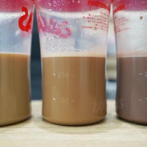 マイプロテイン レビュー#23:【ゴールデンシロップ】【ミルクティー】【チョコレートココナッツ】を試す