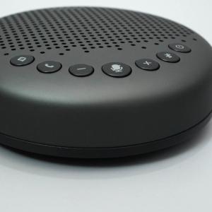 【レビュー】eMeet Luna:eMeetのテレカン用スピーカー最新作新はVoiceIA搭載でキーボード音が消える!