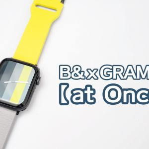 "Apple Watch Journal x GRAMASコラボ Apple Watchバンド ""at Once""レビュー"