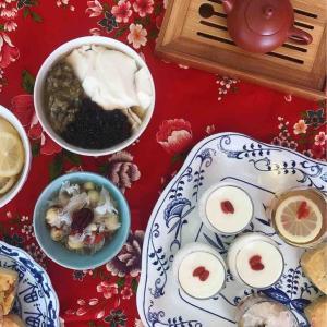 伝統台湾スイーツと台湾茶の授業をしました!
