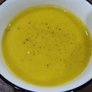 台湾の甘いカボチャで作るスープ