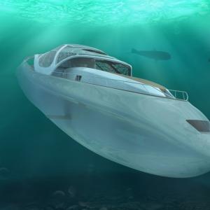 未来の豪華ヨットは、潜水も可能?!潜水ヨットの全貌が明らかに